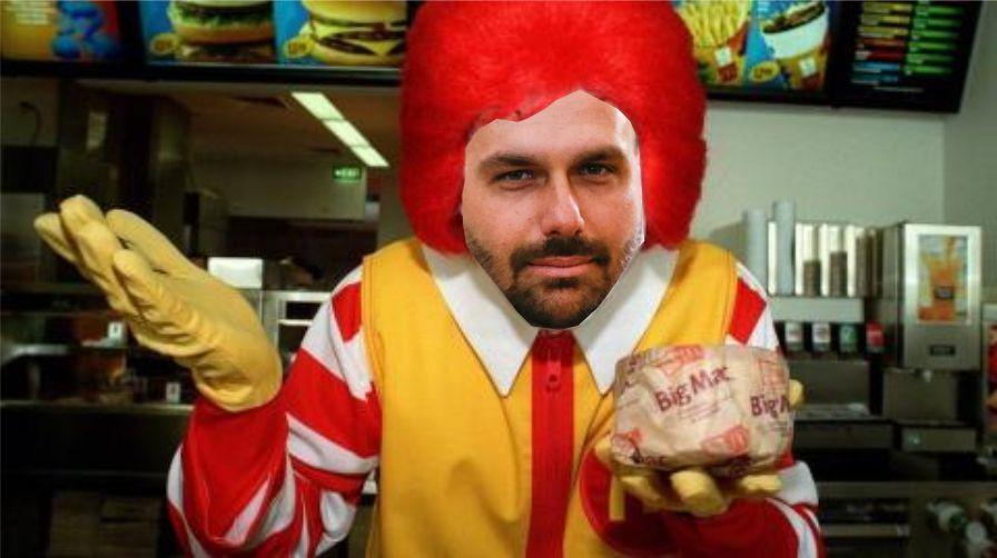 Resultado de imagem para eduardo bolsonaro hamburguer