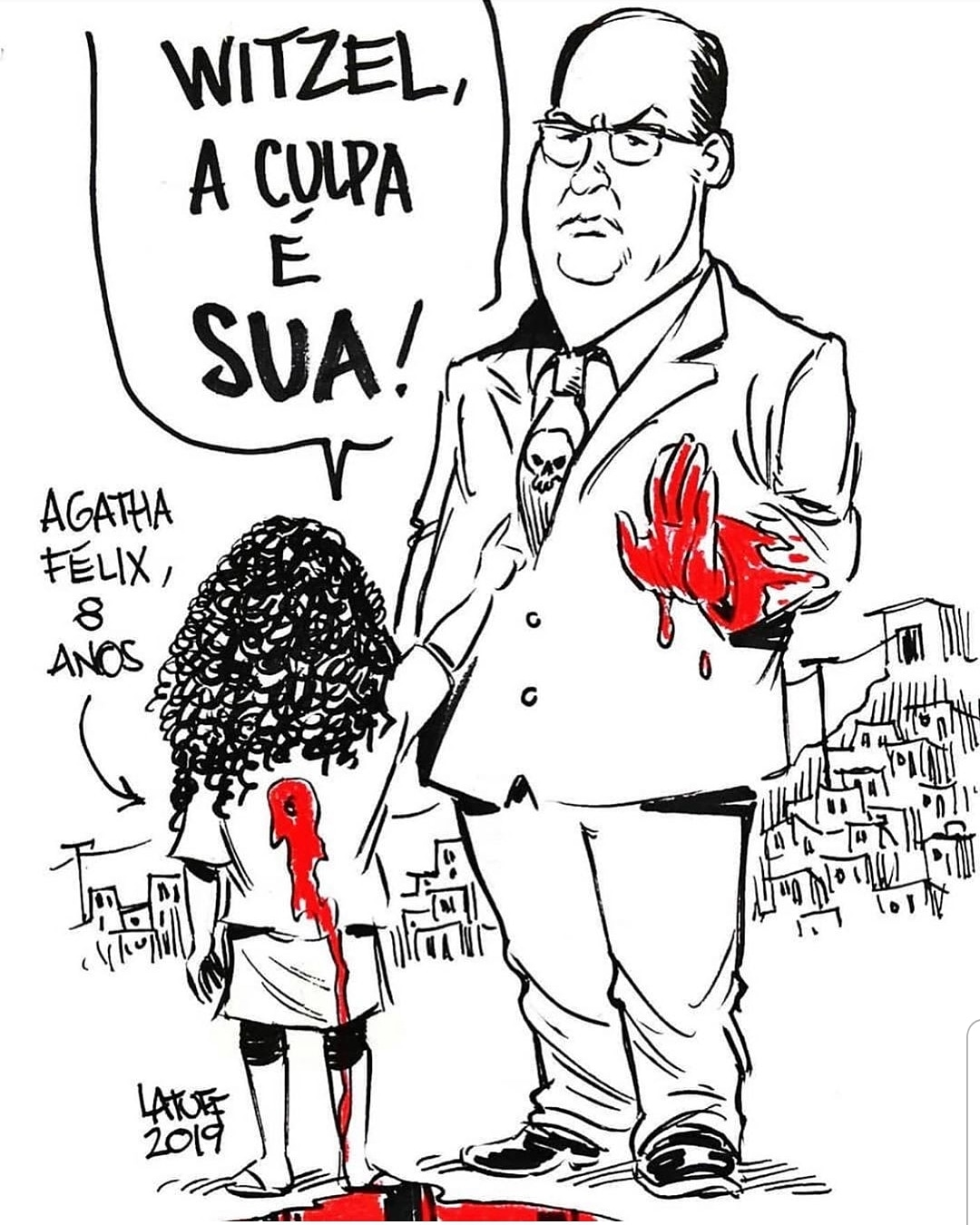 A charge do dia