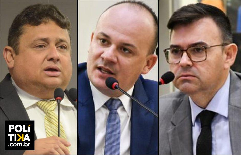 Oposição na ALPB se resume a Cabo Gilberto, Raniery e Wallber Virgolino