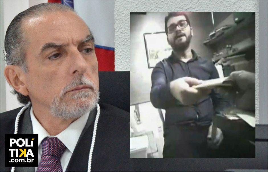 VÍDEO: Até quando a defesa do ex-presidiário Berg Lima continuará colocando palavras na boca do desembargador Ricardo Vital?