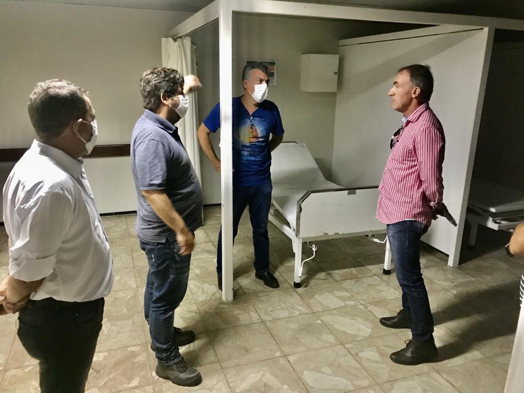 COMBATE AO CORONAVÍRUS: Prefeitura de João Pessoa inicia visita técnica e orienta empresa sobre obras para reestruturação do antigo HTOP