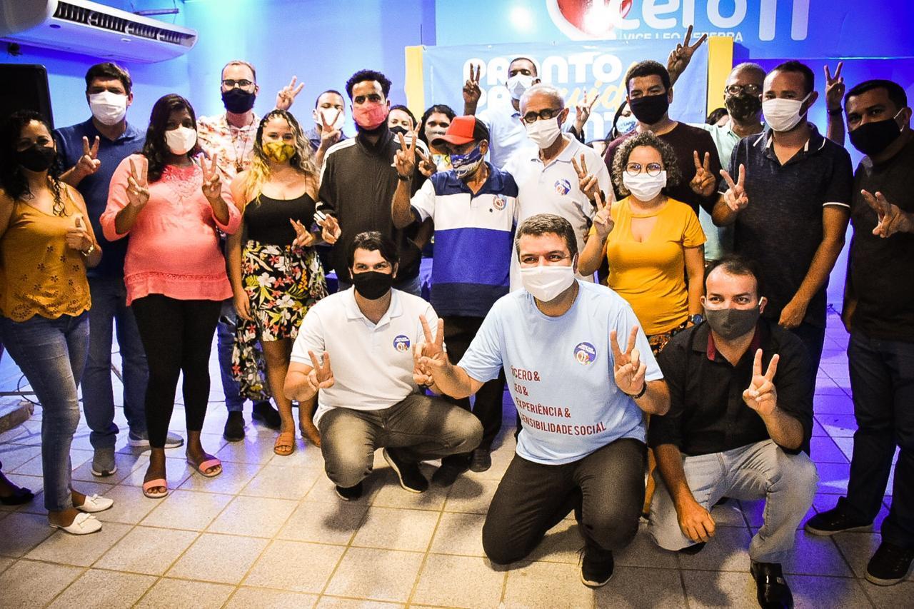 Cícero Lucena assume compromisso com redução das desigualdades e recebe apoio da Frente Popular de Favelas e Periferias de João Pessoa