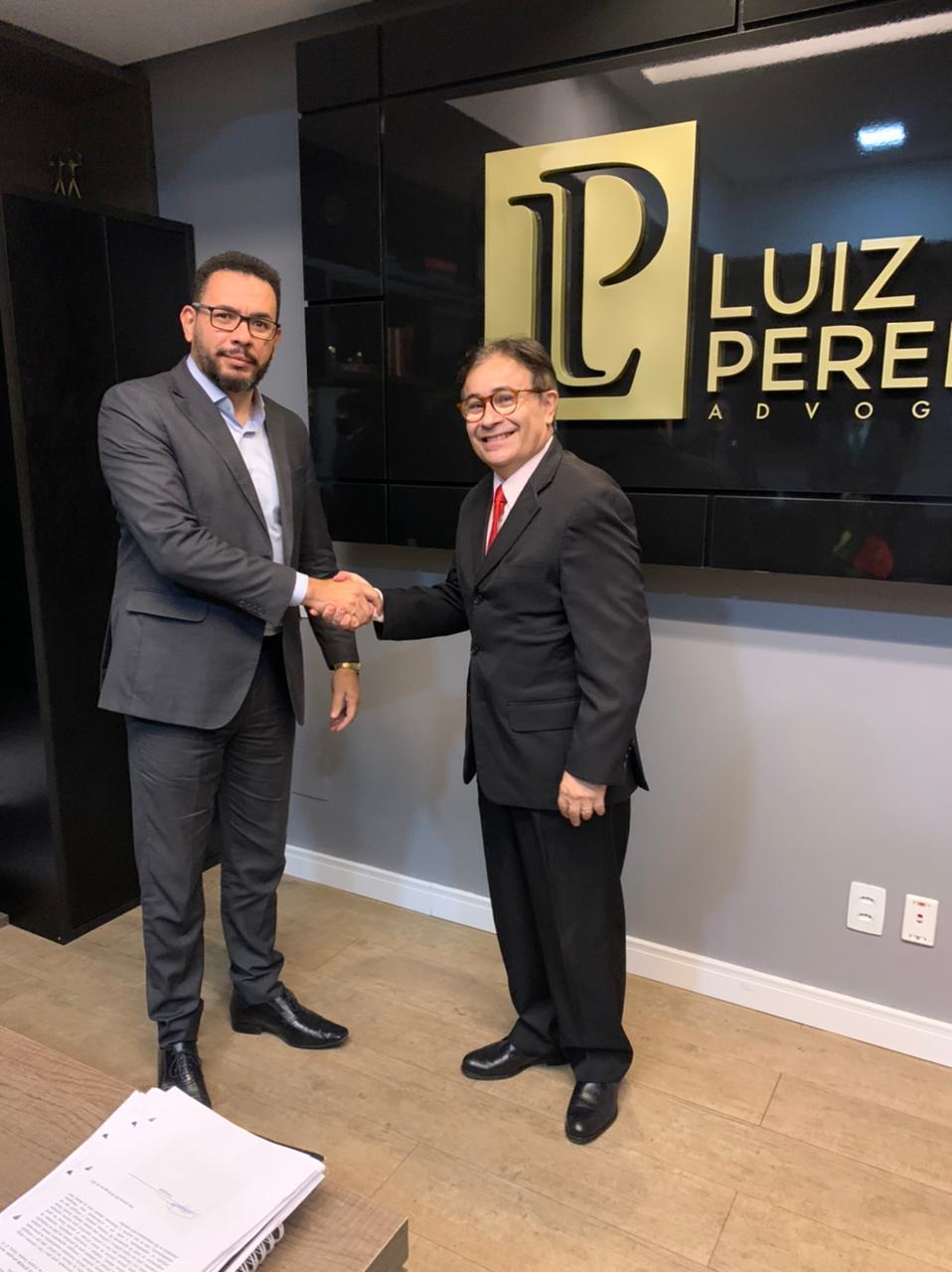 Luiz Pereira anuncia apoio a Harrisson Targino na disputa pela presidência da OAB