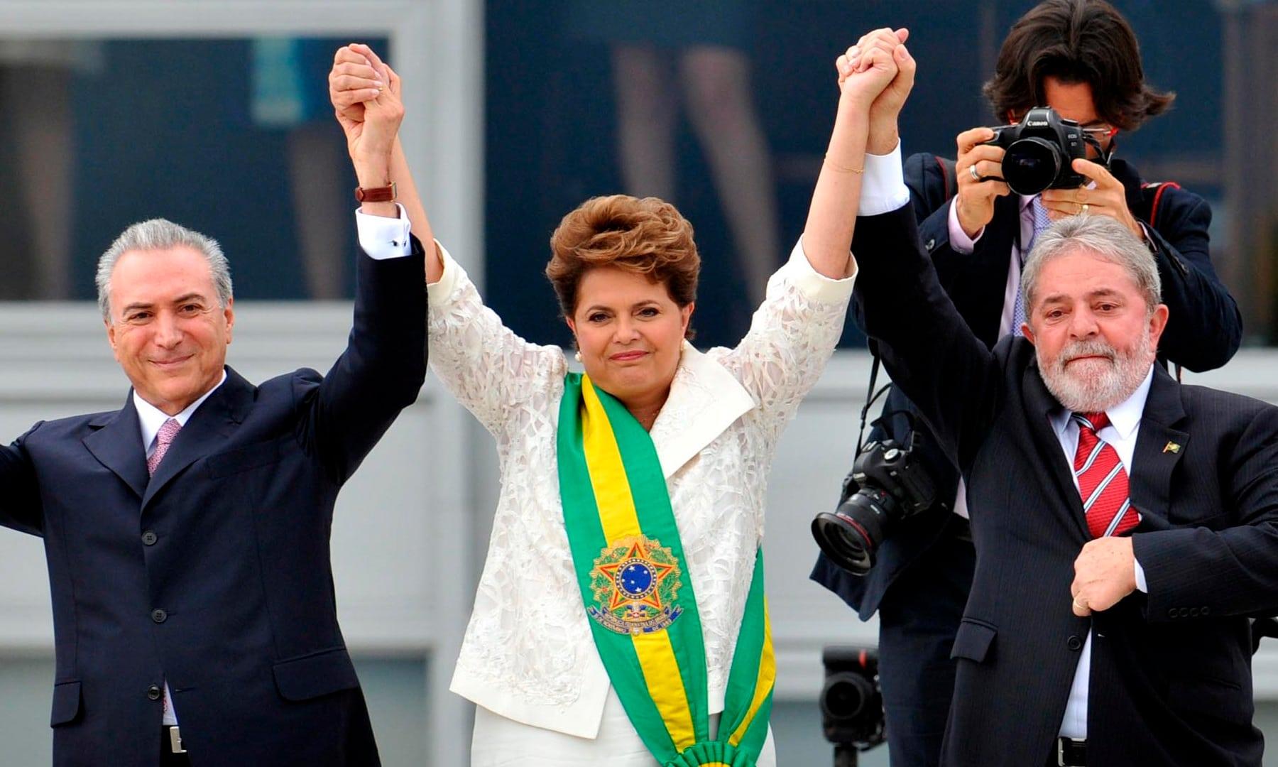 Temer-Dilma-Lula